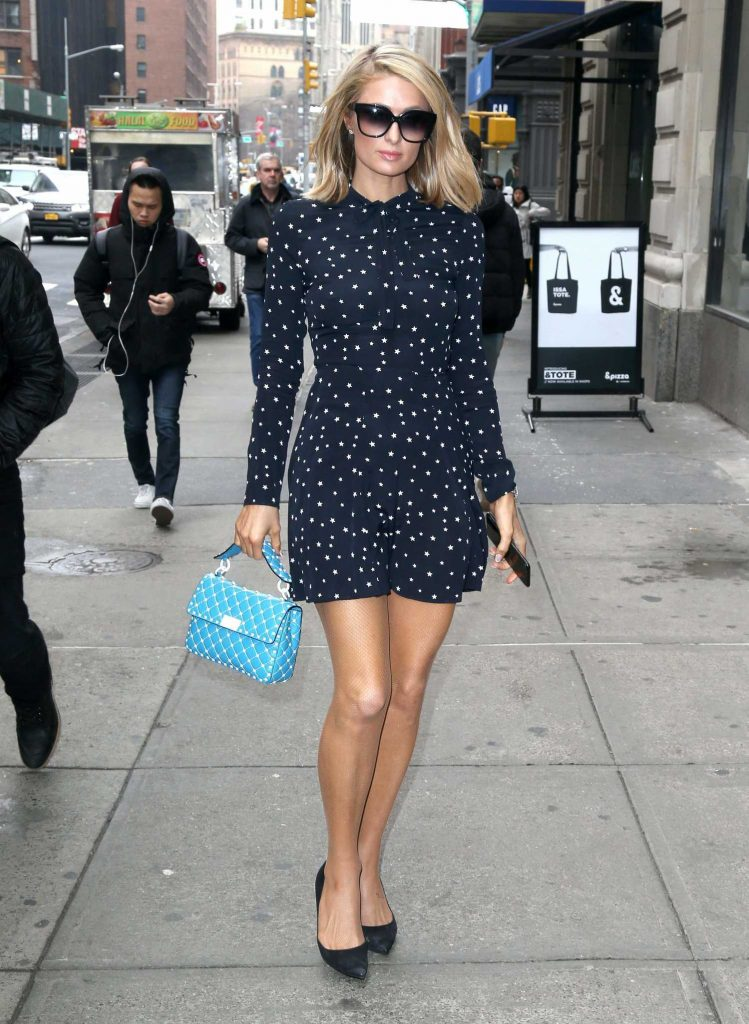 Paris Hilton Was Spotted Out in New York City-1