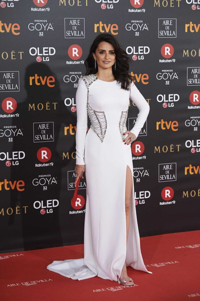Penelope Cruz at 2018 Goya Cinema Awards at Madrid Marriott Auditorium in Madrid-1