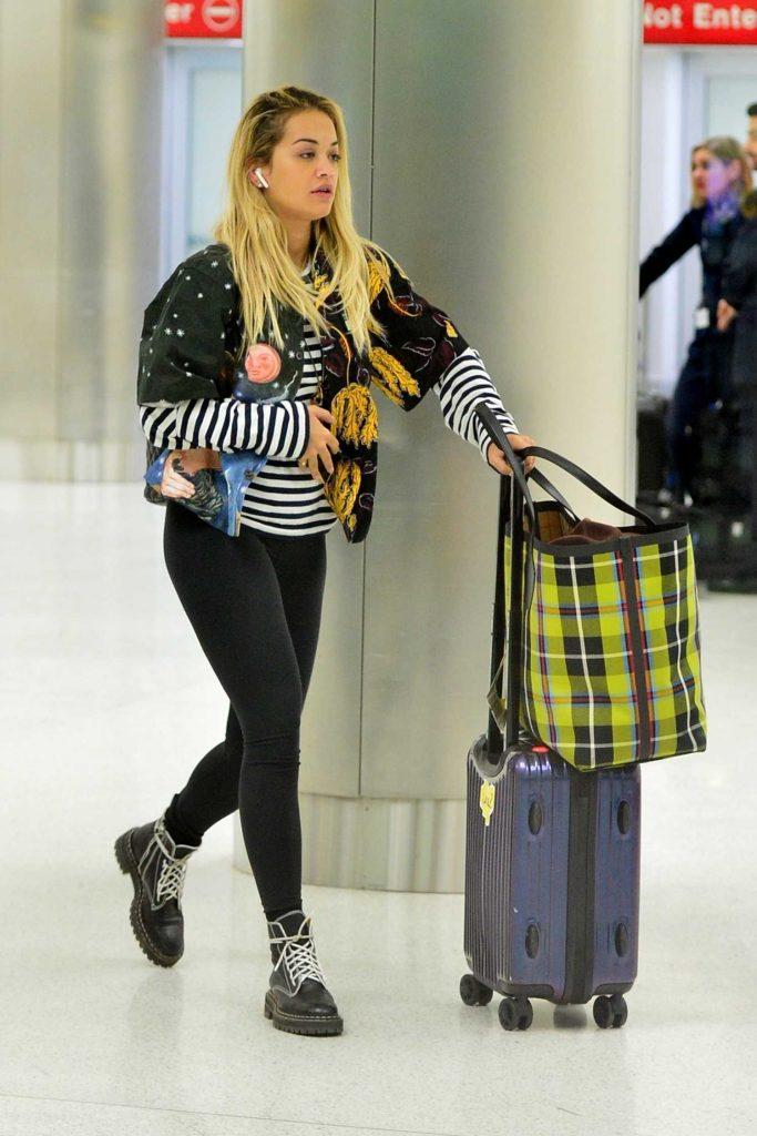 Rita Ora Arrives at Miami Airport in Miami-1