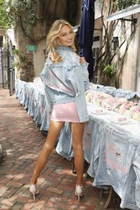 Romee Strijd Celebrates the Launch of Victoria's Secret Bombshell Seduction Fragrance in Miami-3
