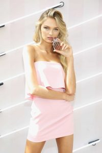Romee Strijd Celebrates the Launch of Victoria's Secret Bombshell Seduction Fragrance in Miami-4
