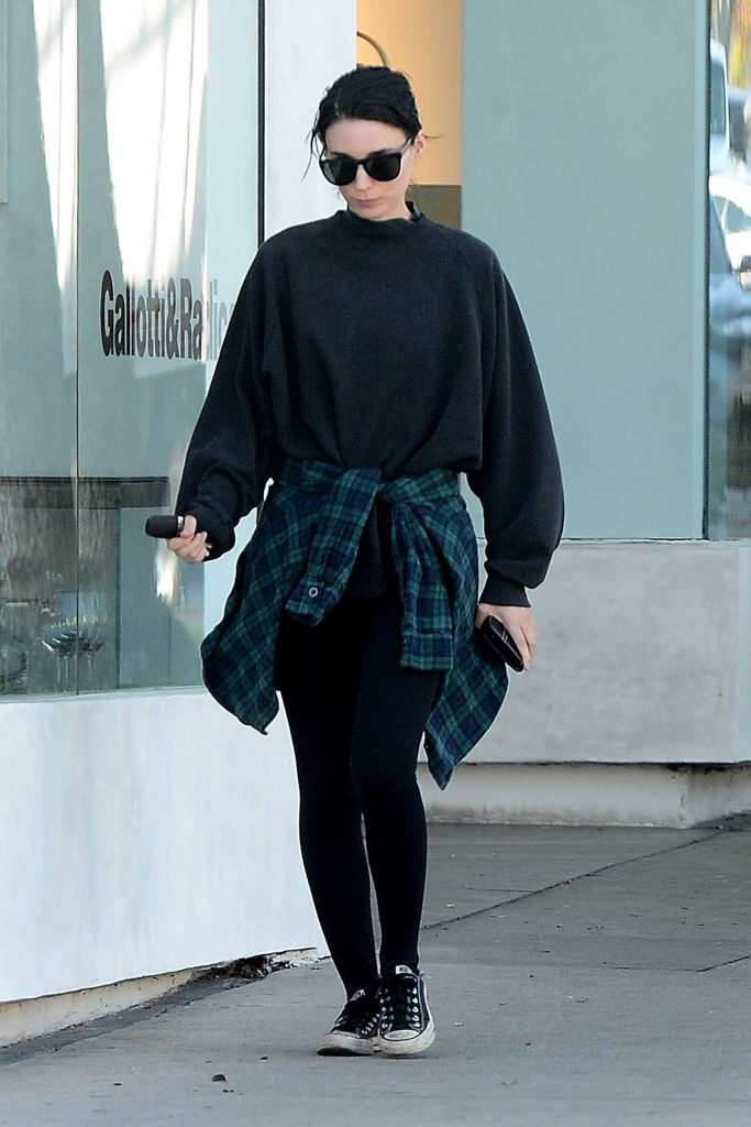 Rooney Mara Leaves a Clothing Store in West Hollywood-1
