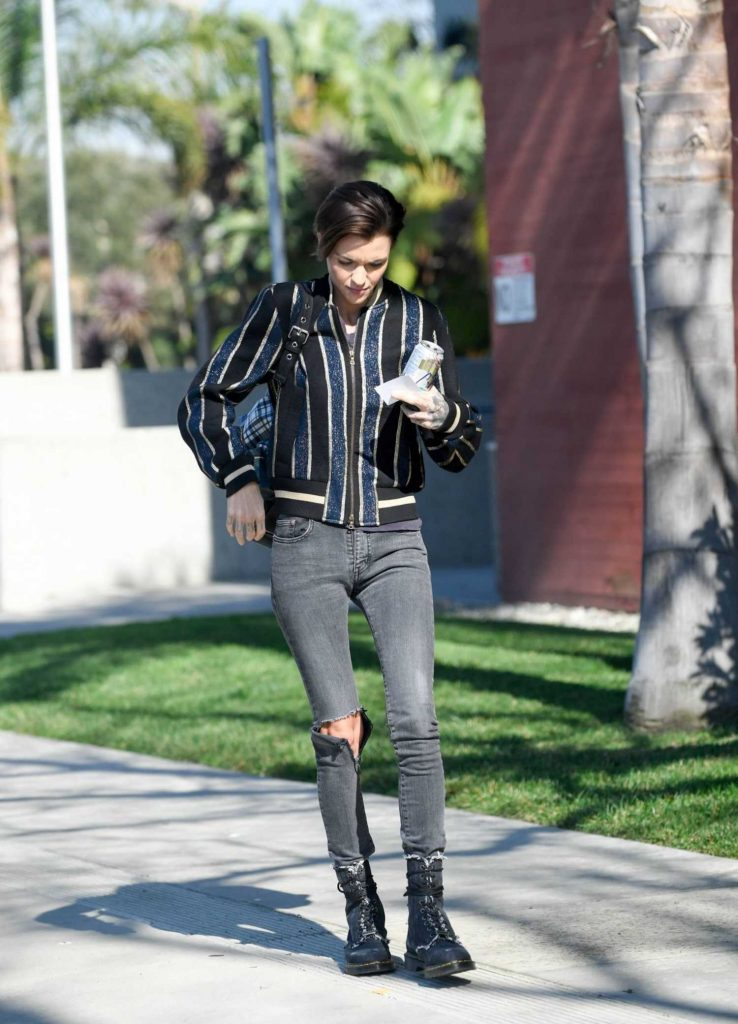Ruby Rose Was Spotted Out in Santa Monica-2
