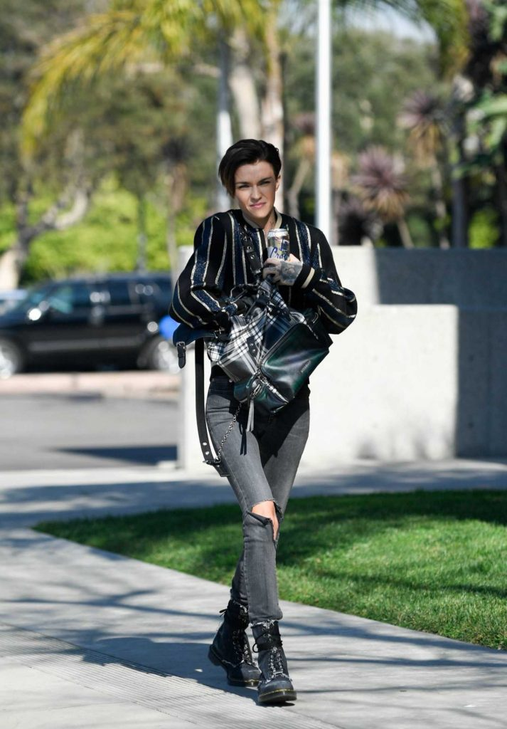 Ruby Rose Was Spotted Out in Santa Monica-3