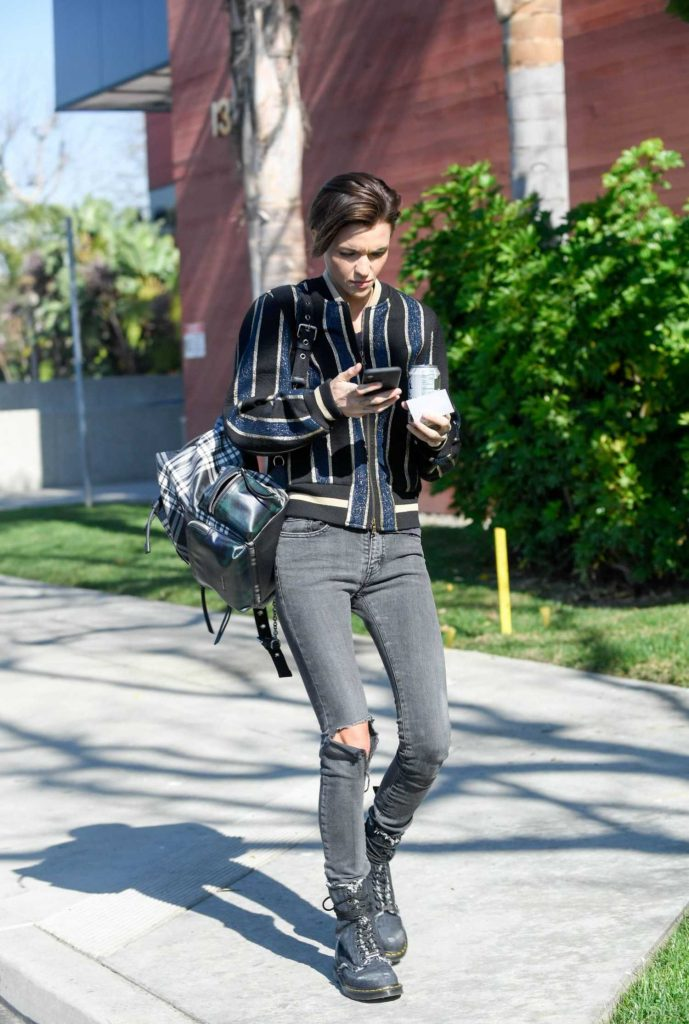 Ruby Rose Was Spotted Out in Santa Monica-5
