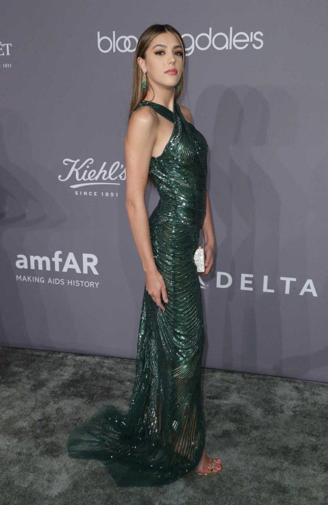 Sistine Stallone at 2018 amfAR Gala New York at Cipriani Wall Street in New York City-4