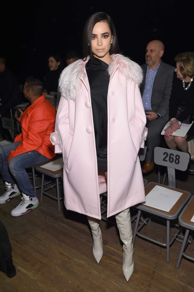 Sofia Carson at the Marc Jacobs Fashion Show During New York Fashion Week in New York City-1