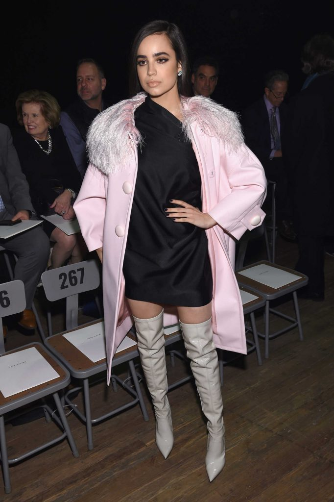 Sofia Carson at the Marc Jacobs Fashion Show During New York Fashion Week in New York City-2