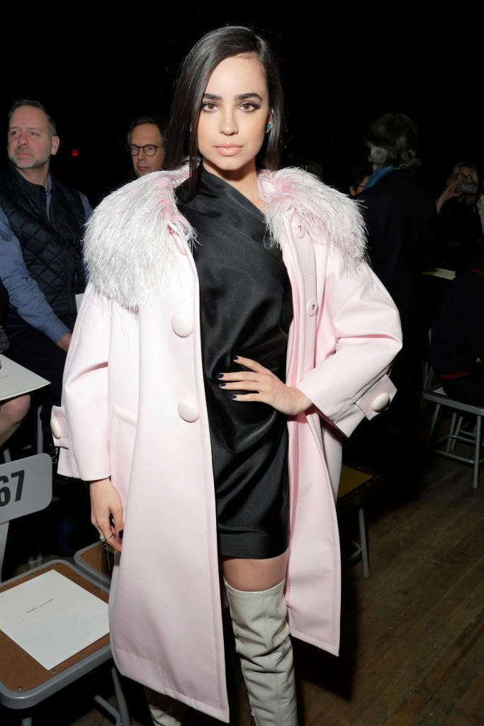 Sofia Carson at the Marc Jacobs Fashion Show During New York Fashion Week in New York City-5