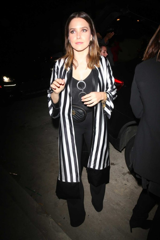 Sophia Bush Arrives at Mr Chow's Restaurant in Vernon-1