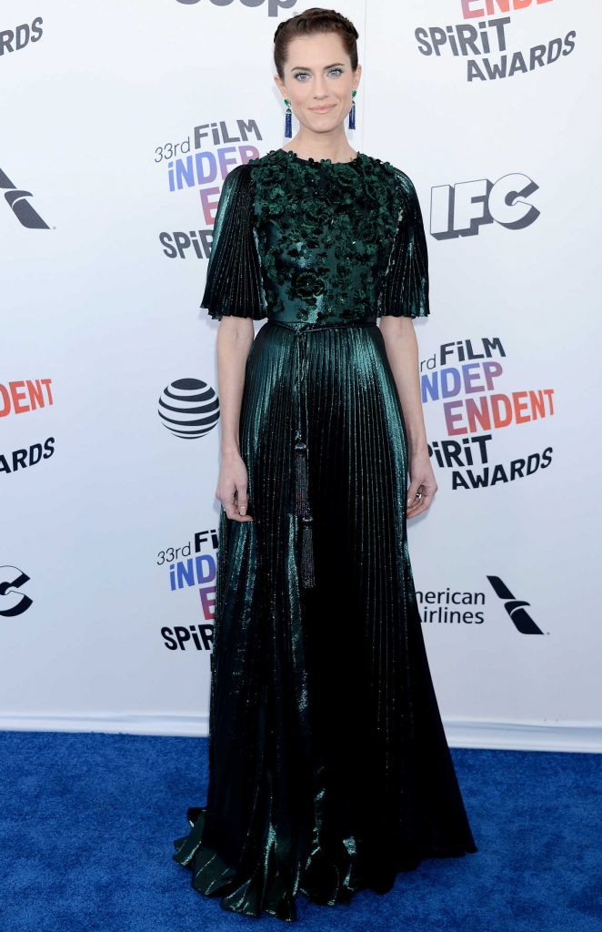 Allison Williams at the 33rd Film Independent Spirit Awards in Santa Monica-1