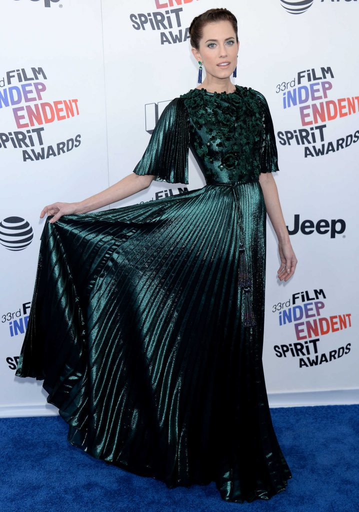 Allison Williams at the 33rd Film Independent Spirit Awards in Santa Monica-2