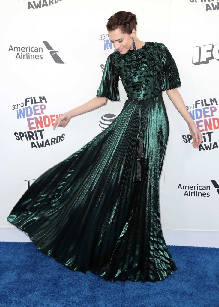 Allison Williams at the 33rd Film Independent Spirit Awards in Santa Monica-3