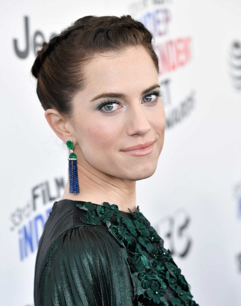 Allison Williams at the 33rd Film Independent Spirit Awards in Santa Monica-5