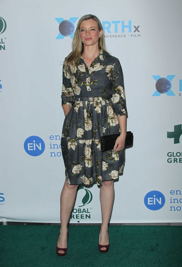 Amy Smart at the 15th Annual Global Green Pre-Oscar Gala in Los Angeles-2