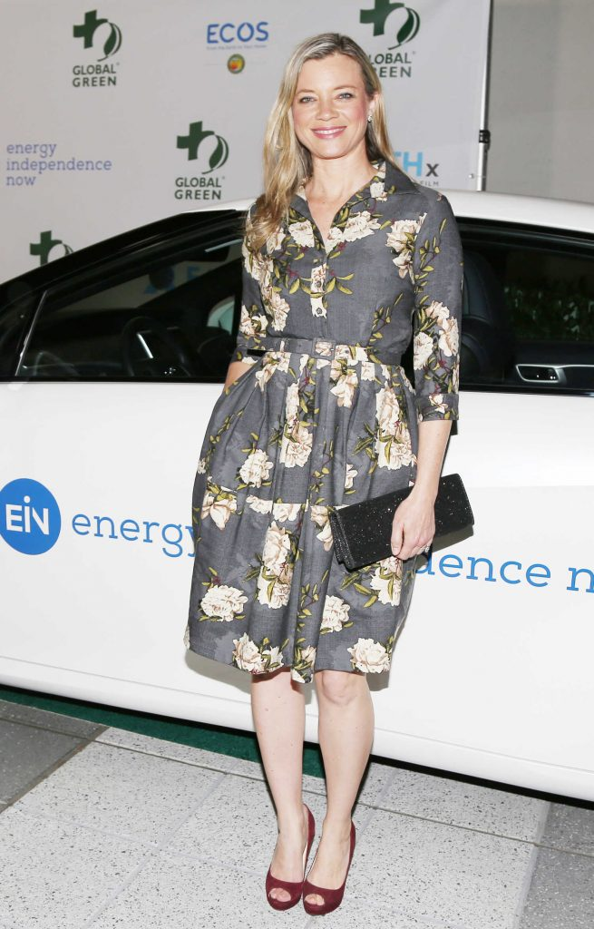 Amy Smart at the 15th Annual Global Green Pre-Oscar Gala in Los Angeles-3