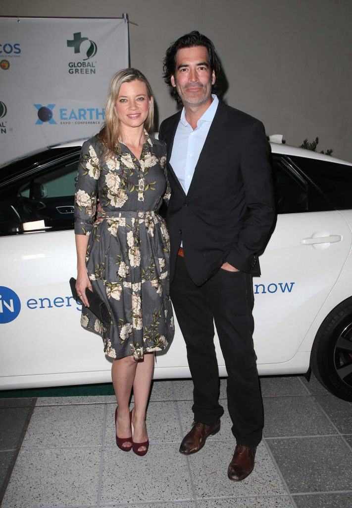 Amy Smart at the 15th Annual Global Green Pre-Oscar Gala in Los Angeles-4