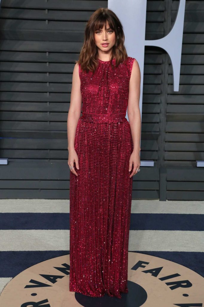 Ana De Armas at 2018 Vanity Fair Oscar Party in Beverly Hills-1