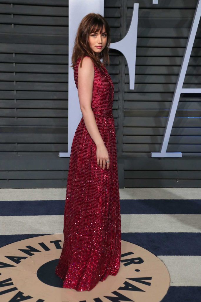 Ana De Armas at 2018 Vanity Fair Oscar Party in Beverly Hills-2