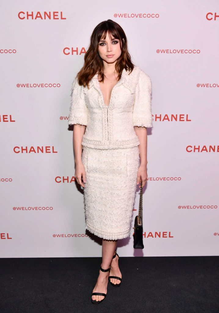Ana de Armas Attends the Chanel Party to Celebrate the Chanel Beauty House in LA-1