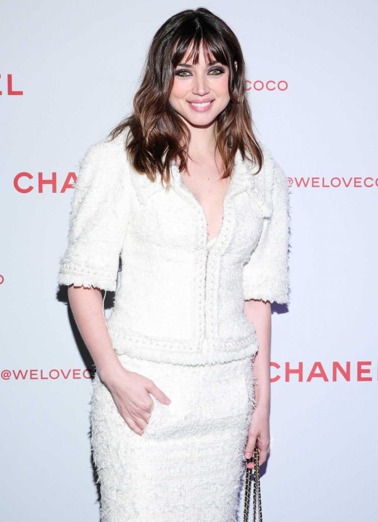 Ana de Armas Attends the Chanel Party to Celebrate the Chanel Beauty House in LA-4