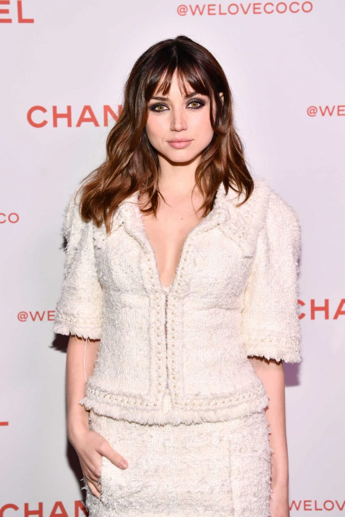 Ana de Armas Attends the Chanel Party to Celebrate the Chanel Beauty House in LA-5