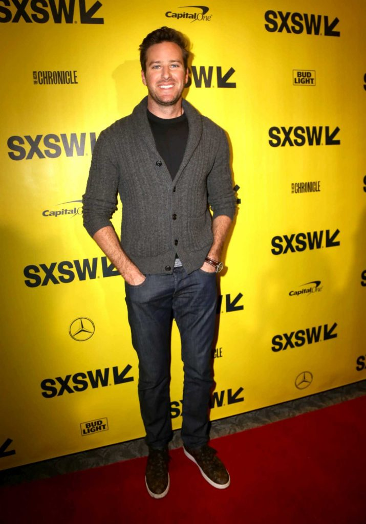 Armie Hammer at the Final Portrait Premiere During the SXSW Festival in Austin-1