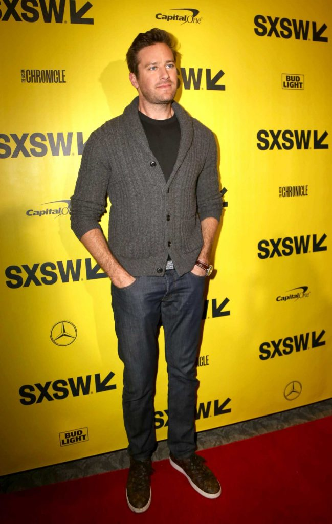Armie Hammer at the Final Portrait Premiere During the SXSW Festival in Austin-3