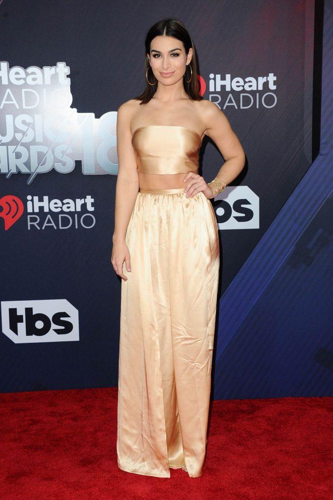 Ashley Iaconetti at 2018 iHeartRadio Music Awards in Inglewood-1