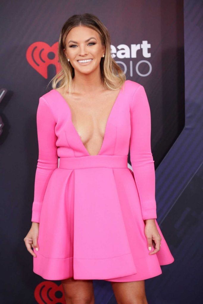 Becca Tilley at 2018 iHeartRadio Music Awards in Inglewood-3