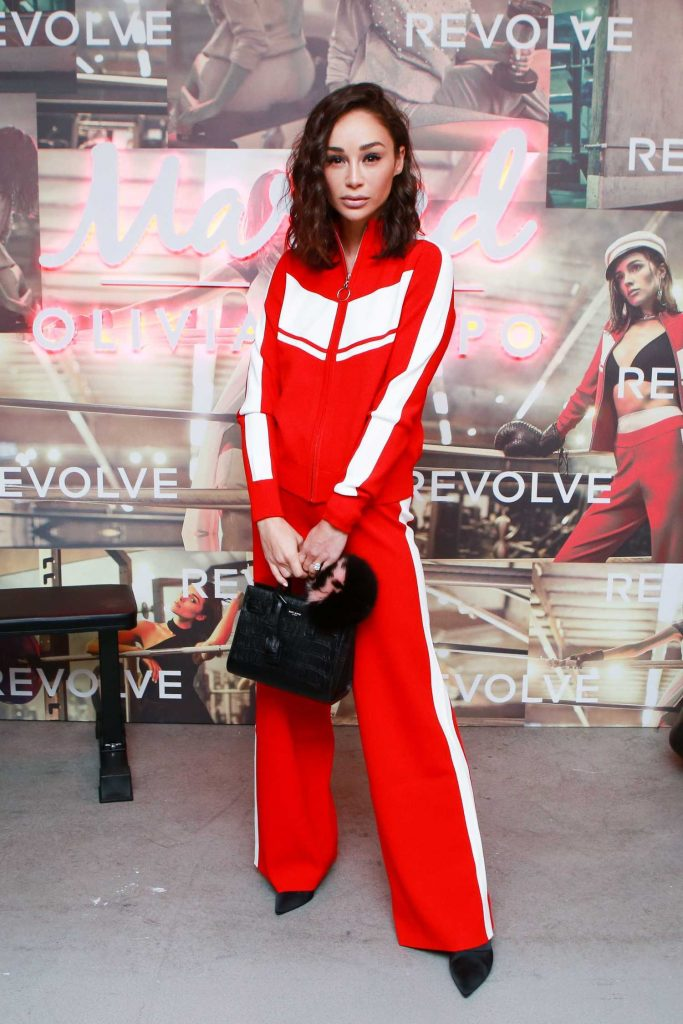 Cara Santana at the Revolve x Marled Collaboration Event in Los Angeles-1