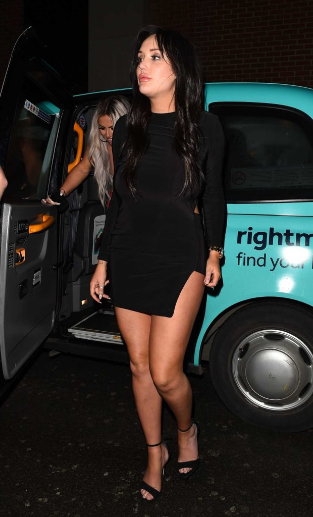 Charlotte Crosby Night Out in London-1