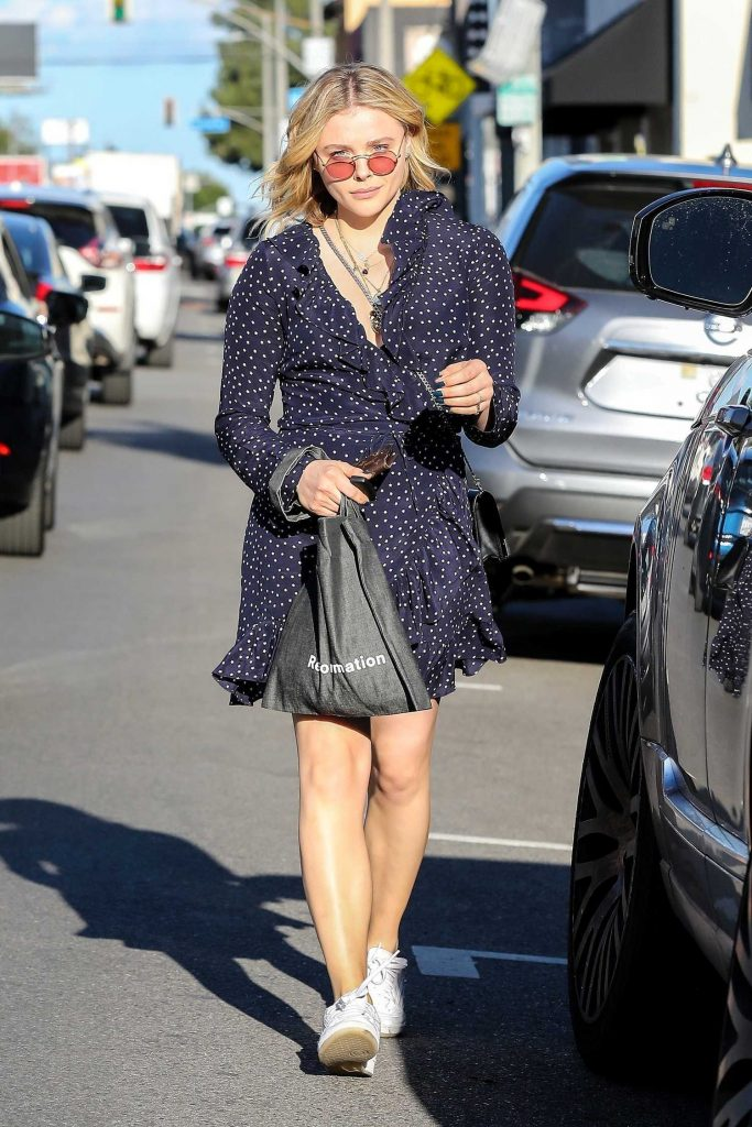 Chloe Moretz Enjoys a Shopping Trip to Golden Age in West Hollywood-1