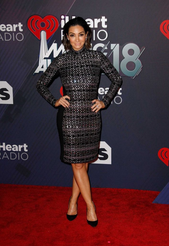 Courtney Laine Mazza at 2018 iHeartRadio Music Awards in Inglewood-2