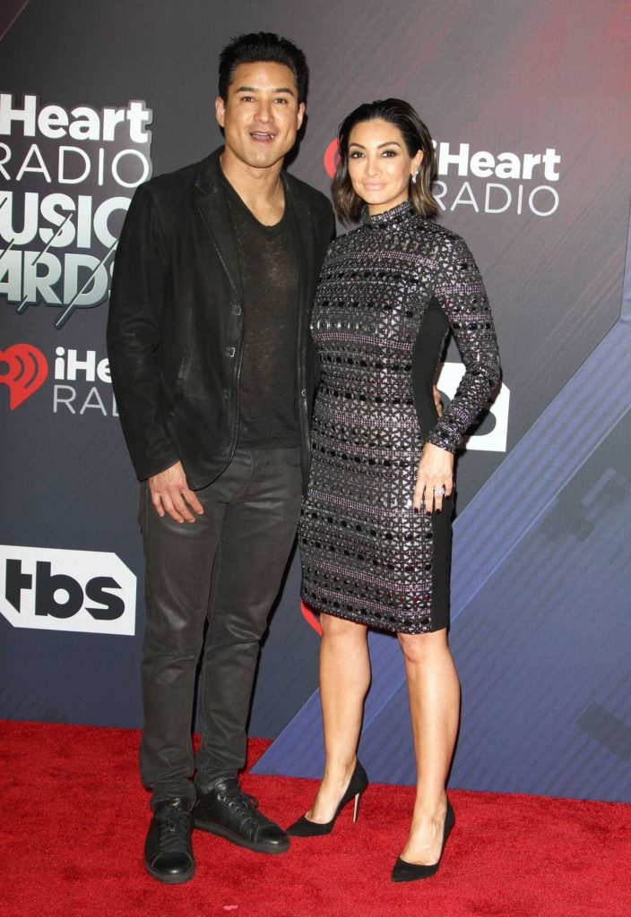 Courtney Laine Mazza at 2018 iHeartRadio Music Awards in Inglewood-4