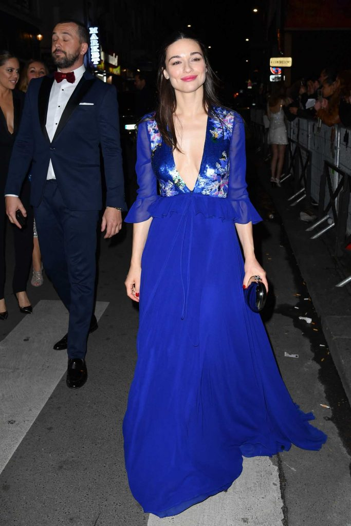 Crystal Reed Arrives at the Ghostland Premiere in Paris-1