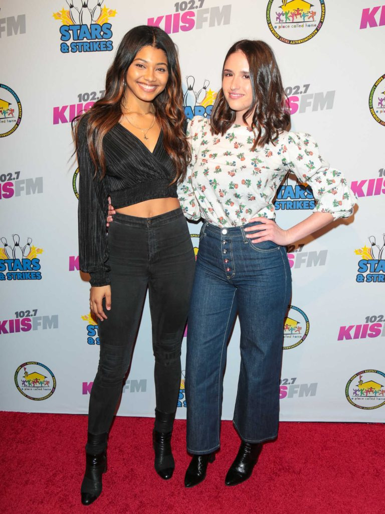 Danielle Herrington at the 12th Annual Stars and Strikes Celebrity Bowling Event in Studio City-2