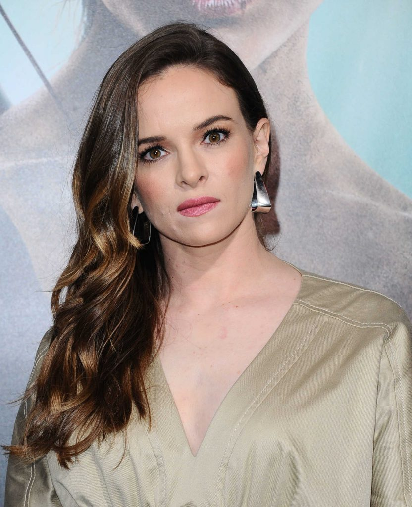 Danielle Panabaker at Tomb Raider Premiere in Hollywood-5