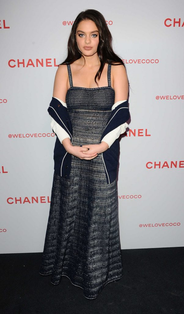 Daya Attends the Chanel Party to Celebrate the Chanel Beauty House in LA-1