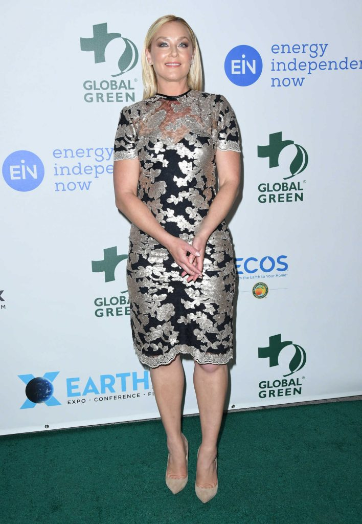 Elisabeth Rohm at the 15th Annual Global Green Pre-Oscar Gala in Los Angeles-1