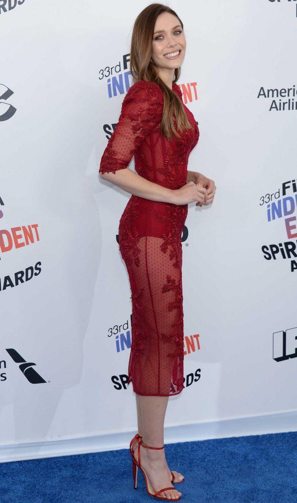 Elizabeth Olsen at the 33rd Film Independent Spirit Awards in Santa Monica-3