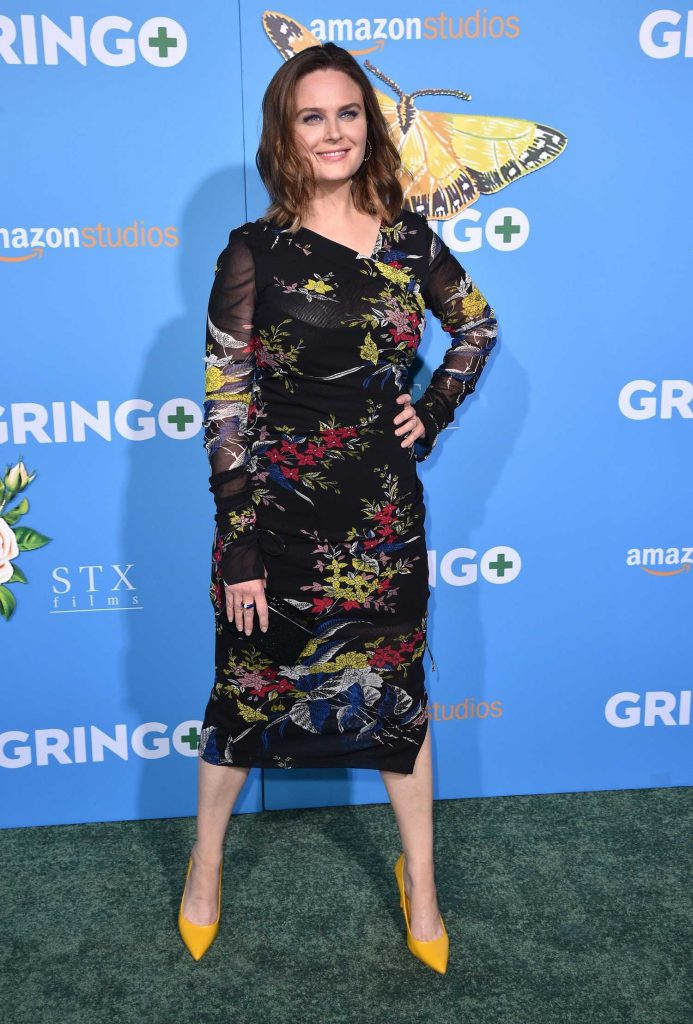 Emily Deschanel at Gringo Premiere in Los Angeles-1