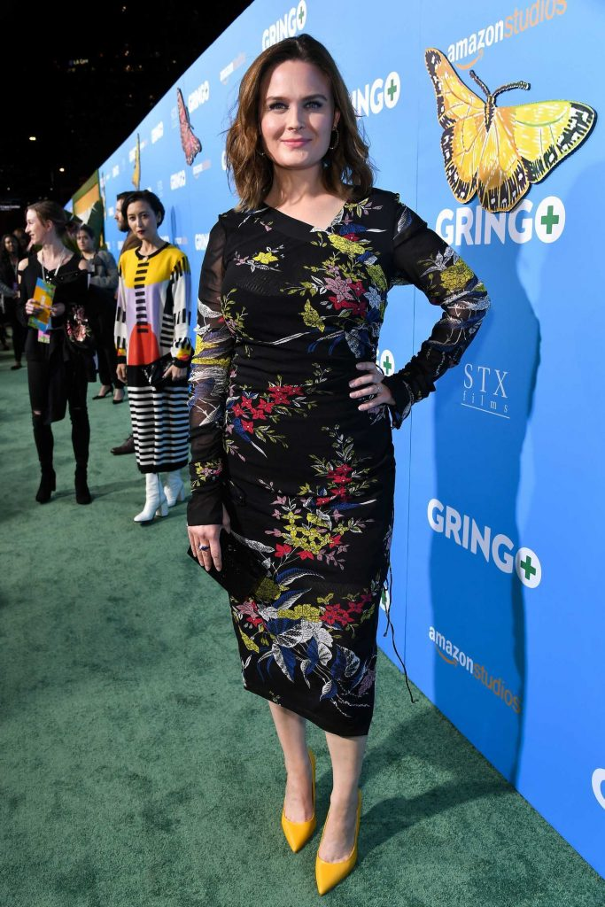 Emily Deschanel at Gringo Premiere in Los Angeles-2