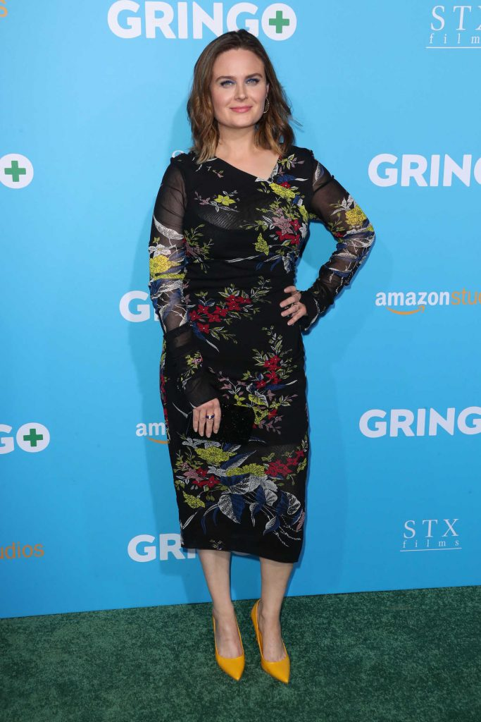 Emily Deschanel at Gringo Premiere in Los Angeles-3