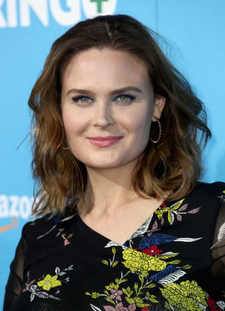 Emily Deschanel at Gringo Premiere in Los Angeles-5