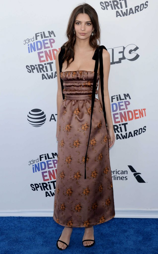 Emily Ratajkowski at the 33rd Film Independent Spirit Awards in Santa Monica-1