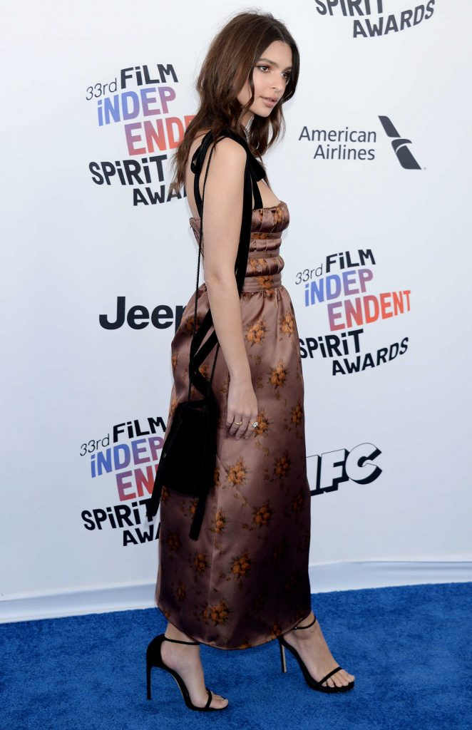 Emily Ratajkowski at the 33rd Film Independent Spirit Awards in Santa Monica-4