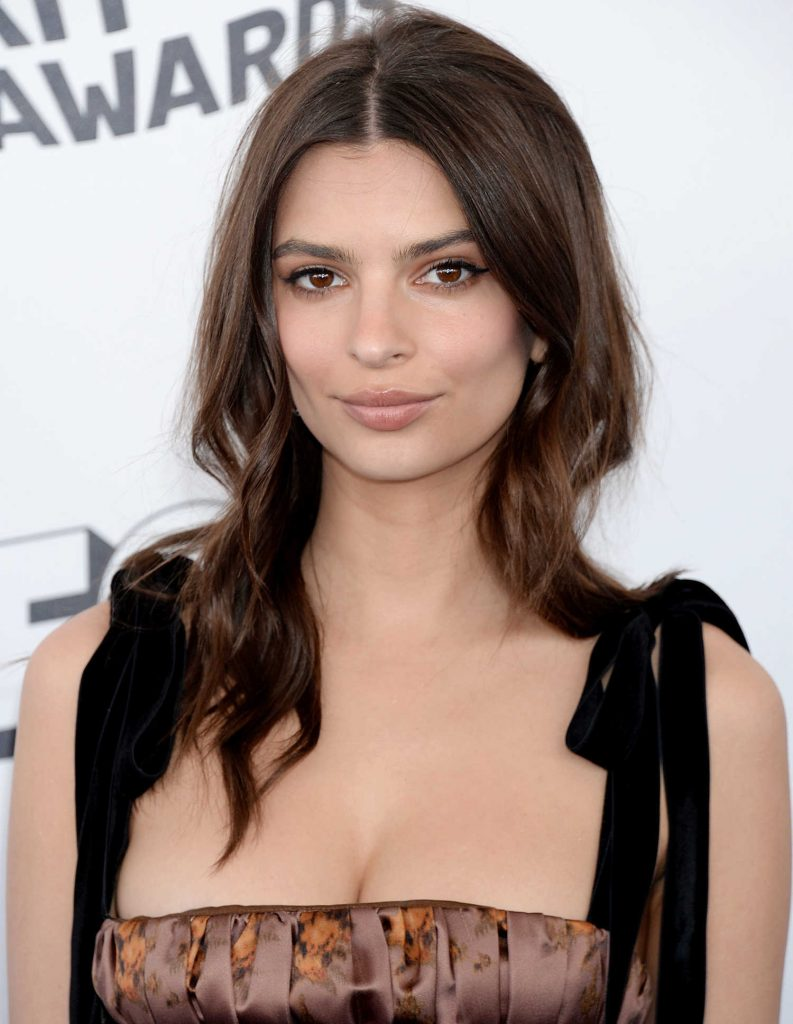Emily Ratajkowski at the 33rd Film Independent Spirit Awards in Santa Monica-5