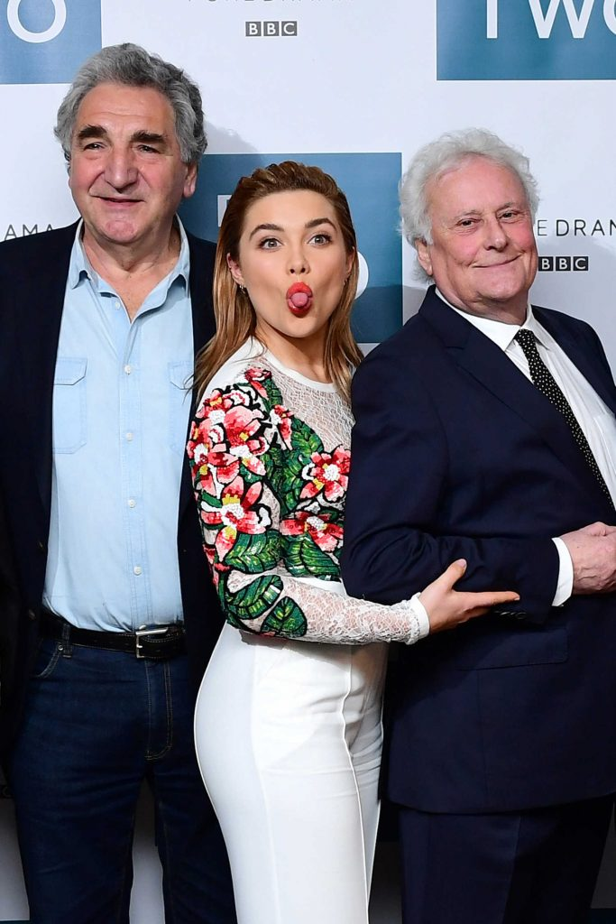 Florence Pugh at the King Lear BBC Screening at The Soho Hotel in London-4