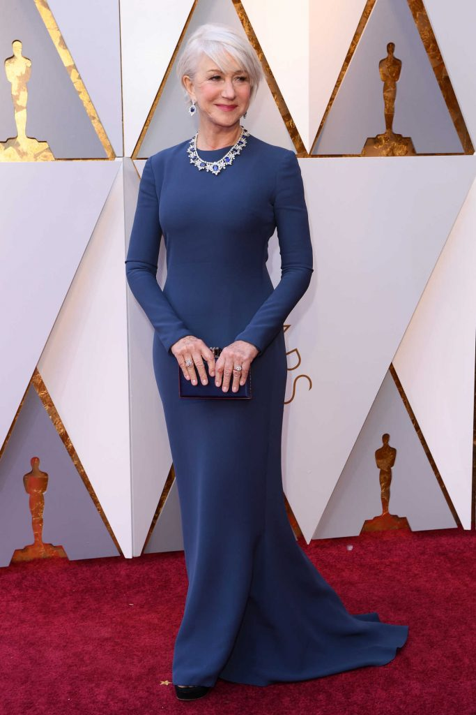 Helen Mirren at the 90th Annual Academy Awards in Los Angeles-1